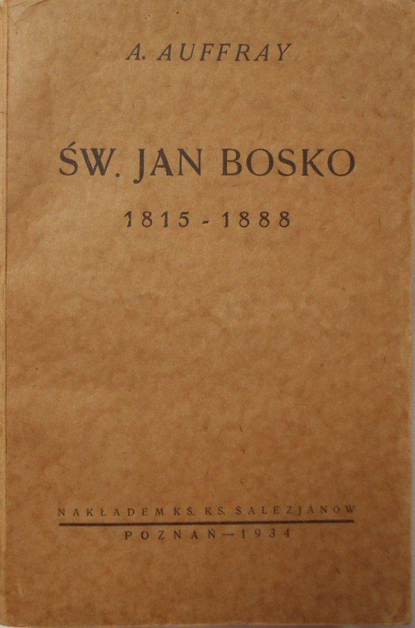 A. Auffray • Św. Jan Bosko 1815 1888