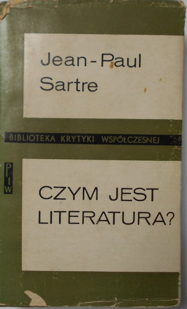 Jean Paul Sartre • Czym jest literatura?