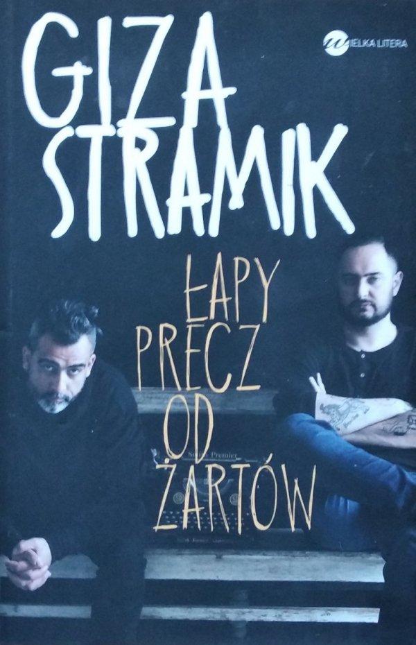 Abelard Giza Jacek Stramik • Łapy precz od żartów