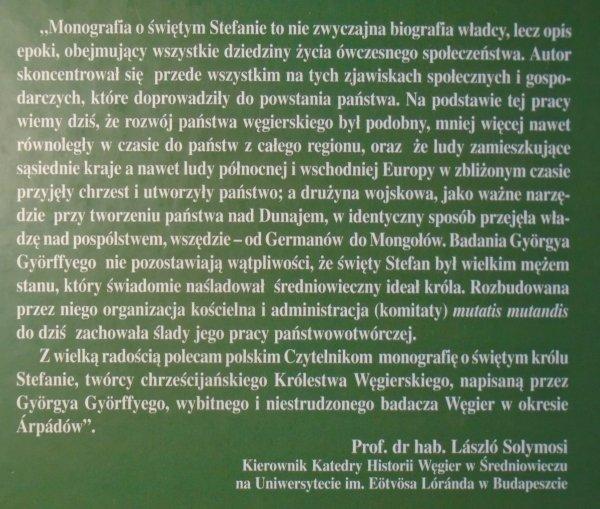 Gyorgy Gyorffy • Święty Stefan I. Król Węgier