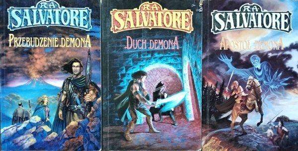 R. A. Salvatore • Trylogia Wojen Demonów [komplet]