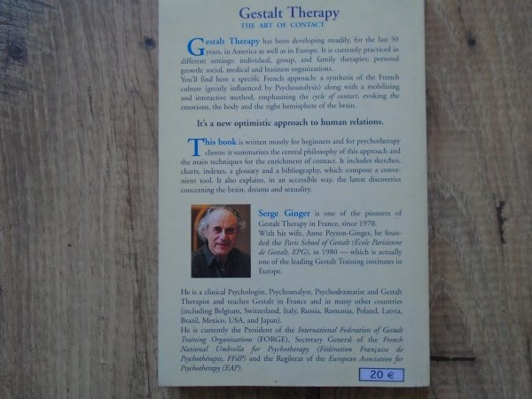 Serge Ginger • Gestalt Therapy. The Art of Contact