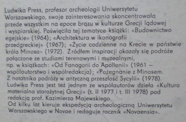 Ludwika Press • Kultura Wysp Cykladzkich w epoce brązu