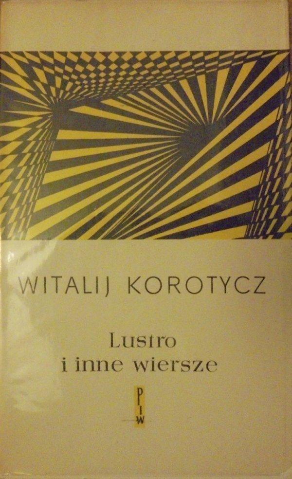 Witalij Korotycz • Lustro i inne wiersze [Aleksander Stefanowski]