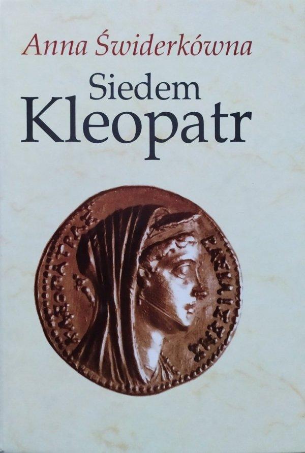 Anna Świderkówna Siedem Kleopatr