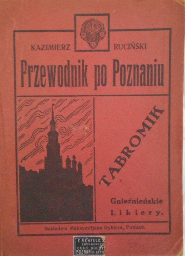 Kazimierz Ruciński • Przewodnik po Poznaniu