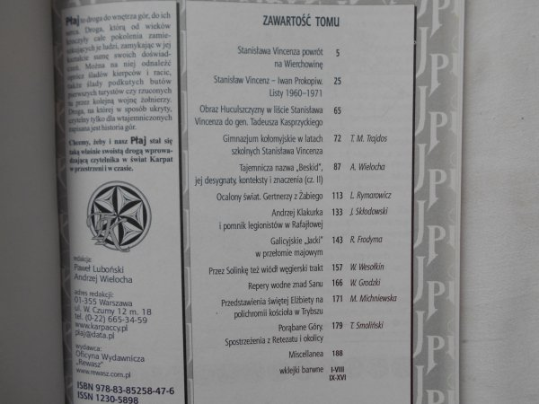 Płaj. Almanach karpacki wiosna 2010 • Vincenz. Huculszczyzna