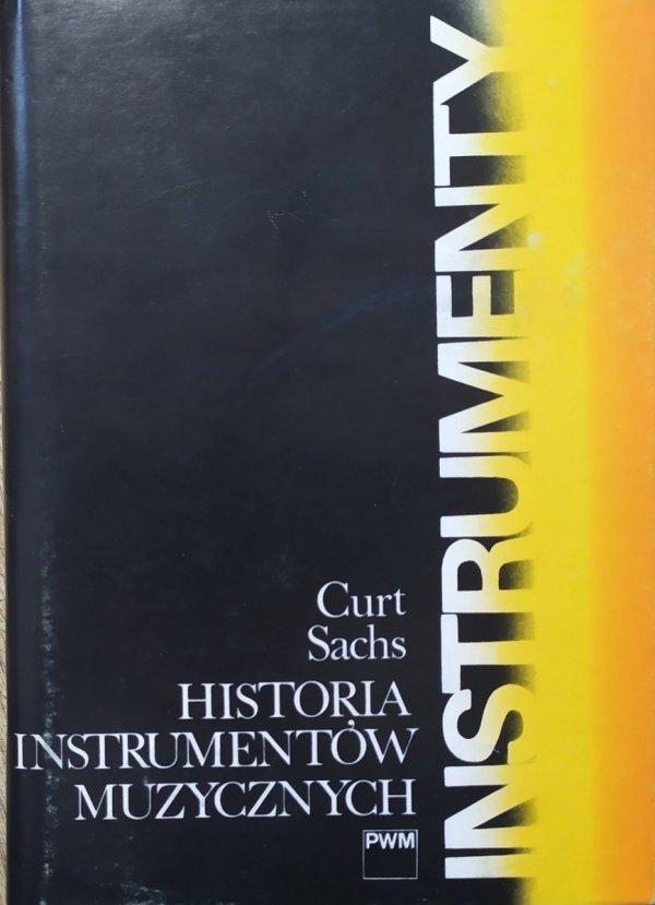 Curt Sachs Historia instrumentów muzycznych