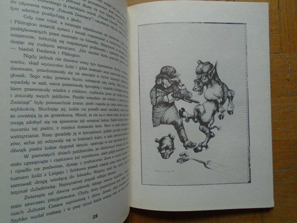 George Orwell • Folwark zwierzęcy [Jan Lebenstein]