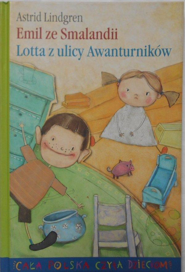 Astrid Lindgren • Emil ze Smalandii. Lotta z ulicy awanturników