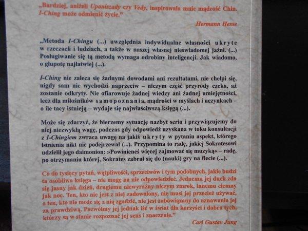 I Ching • Księga przemian, księga wyroczni