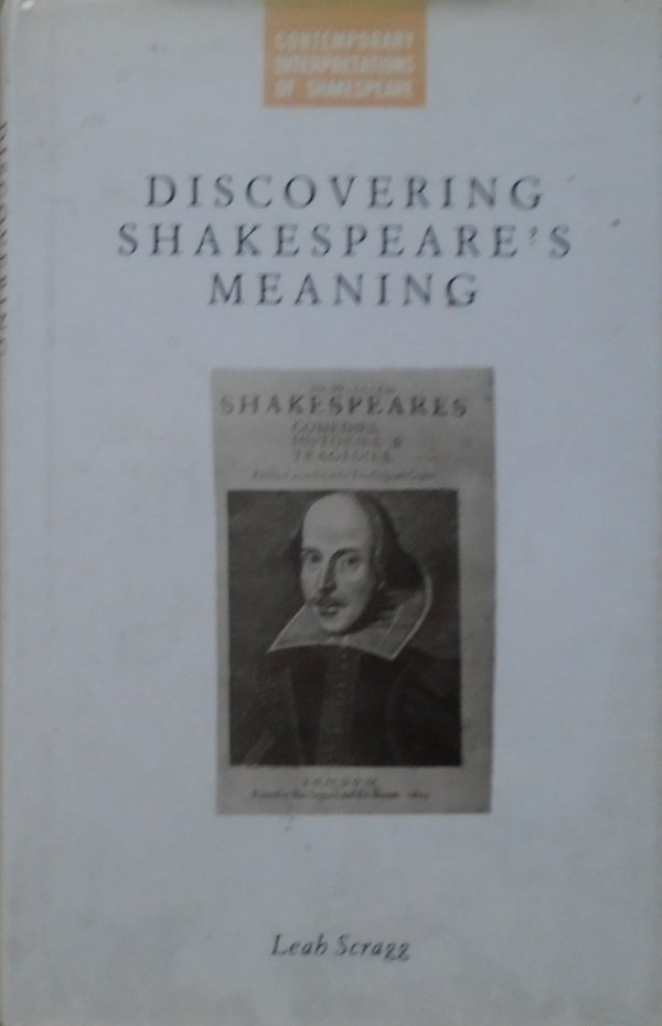 Leah Scragg • Discovering Shakespeare's Meaning [Szekspir]