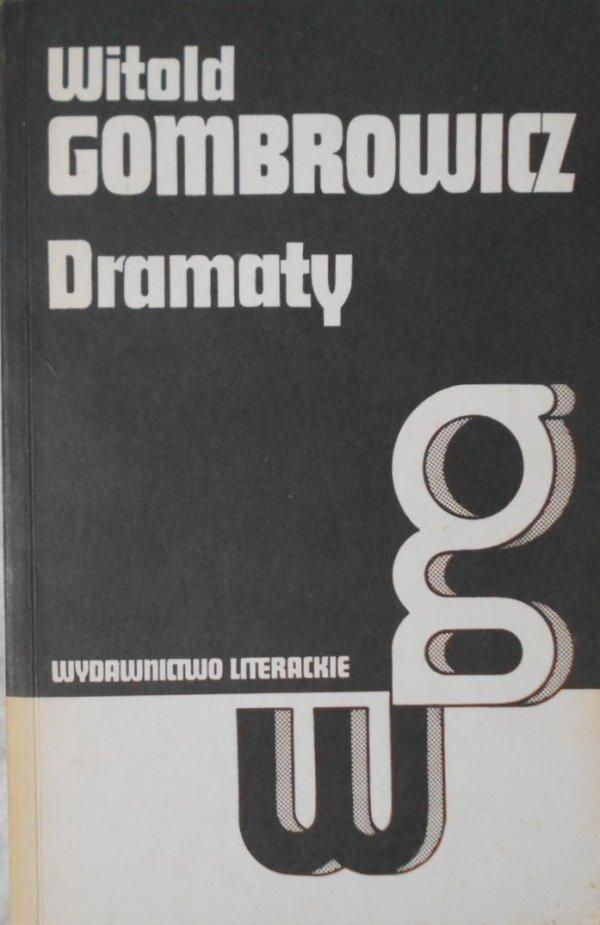 Witold Gombrowicz • Dramaty [Iwona, księżniczka Burgunda. Ślub. Operetka]