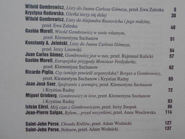 Literatura na świecie 4/2001 • Witold Gombrowicz, Henri Meschonnic, Saint-John Perse, Georges Perec