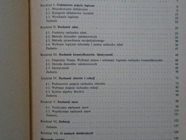 Ludwik Borkowski • Elementy logiki formalnej