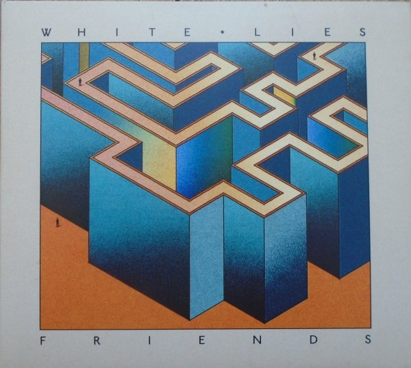 White Lies • Friends • CD