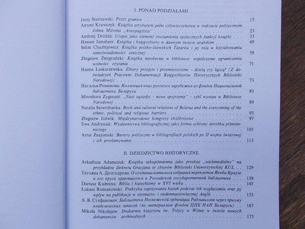 red. Antoni Krawczyk • Książka ponad podziałami