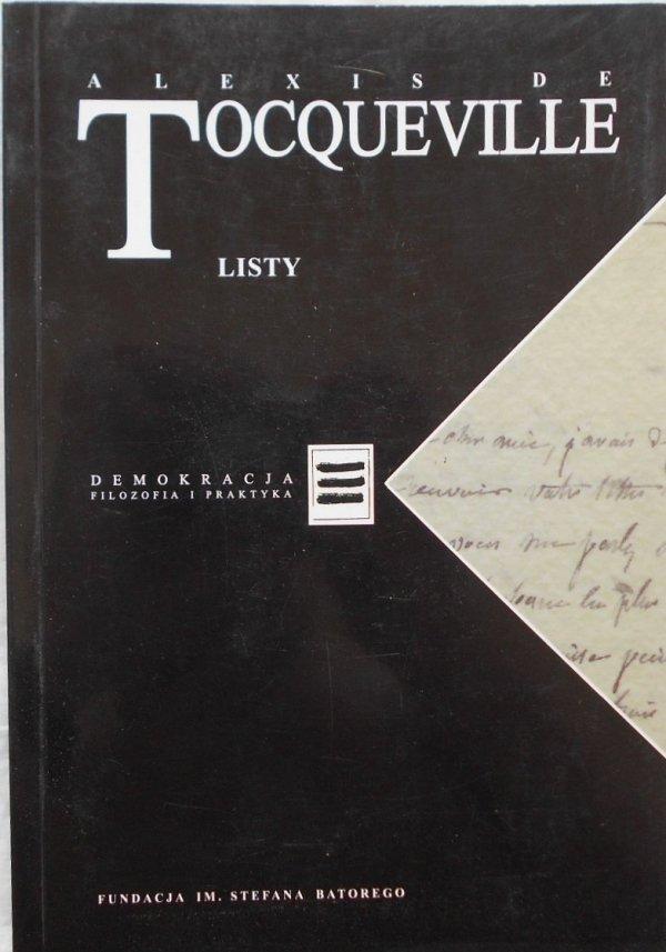 Alexis de Tocqueville • Listy