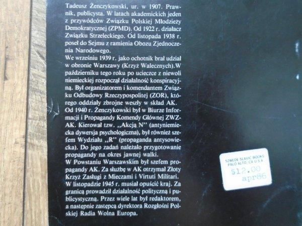 Tadeusz Żenczykowski • Samotny bój Warszawy