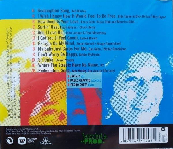 Jacinta • Songs of Freedom • CD