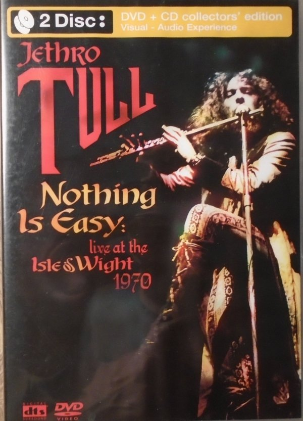 Jethro Tull • Nothing is Easy. Live At The Isle Of Wight 1970 • CD + DVD