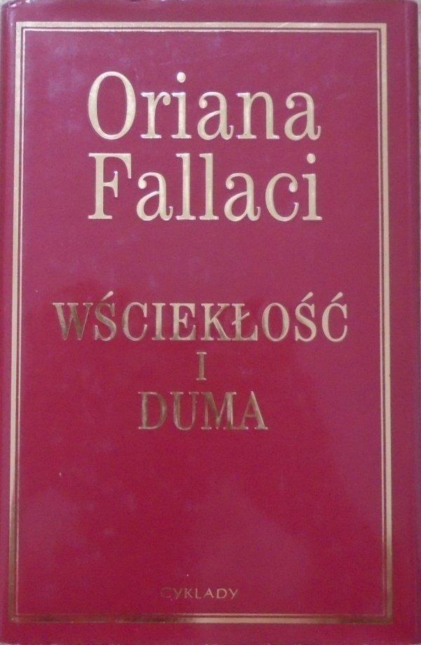 Oriana Fallaci • Wściekłość i duma