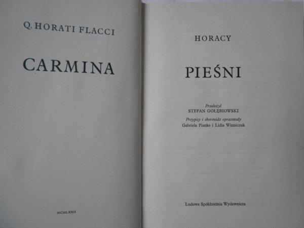 Horacy • Pieśni / Carmina
