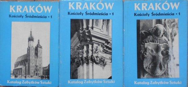 Katalog zabytków sztuki Kraków • Kościoły Śródmieścia 1