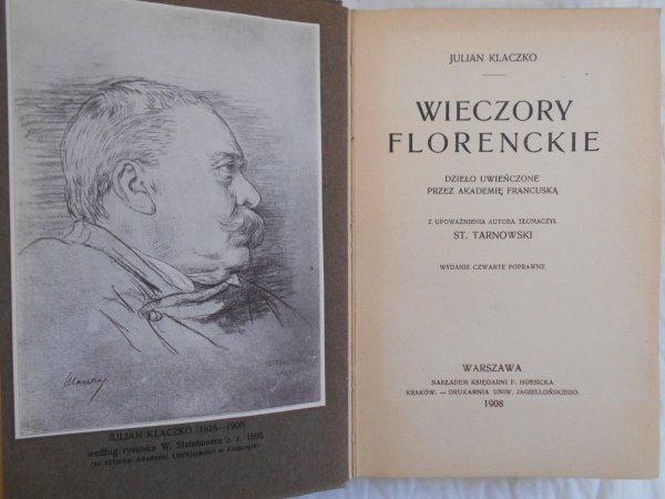 Julian Klaczko • Wieczory florenckie
