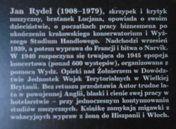 Jan Rydel • Wspomnienia