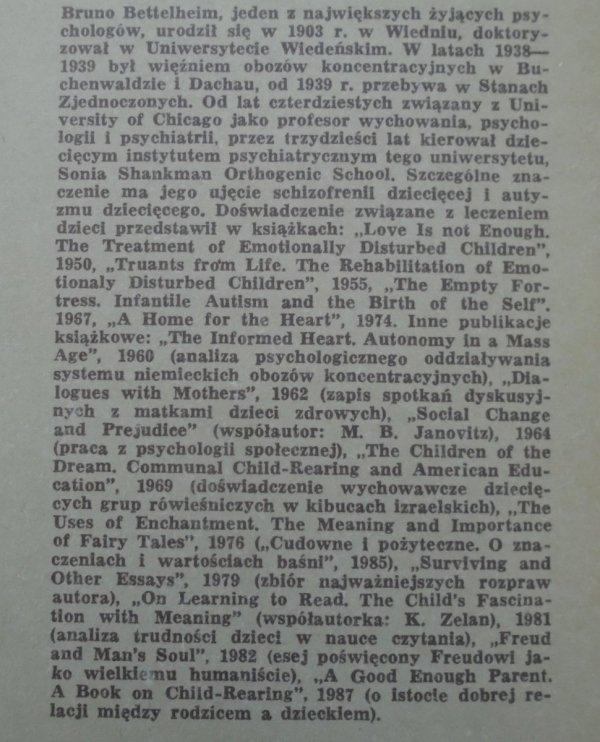Bruno Bettelheim • Rany symboliczne. Rytuały inicjacji i zazdrość męska