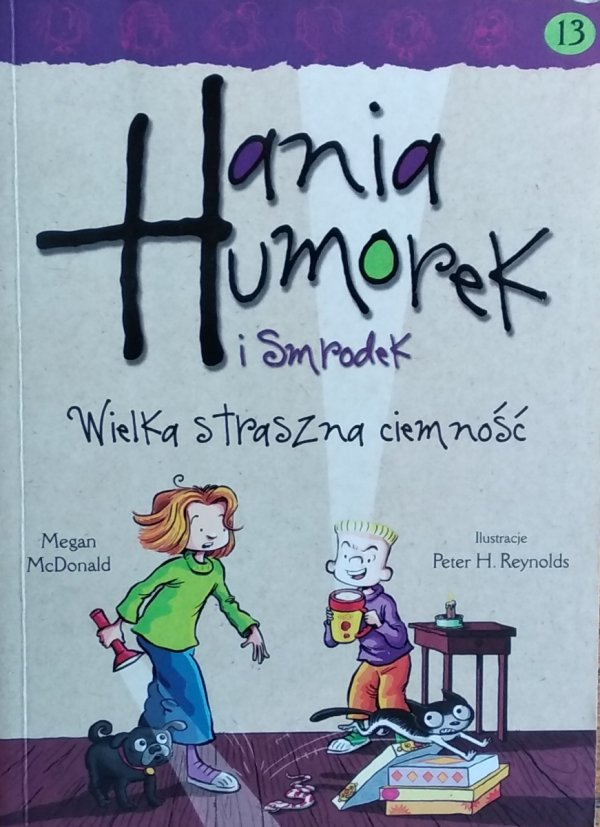 Megan McDonald • Hania Humorek i smrodek. Wielka straszna ciemność