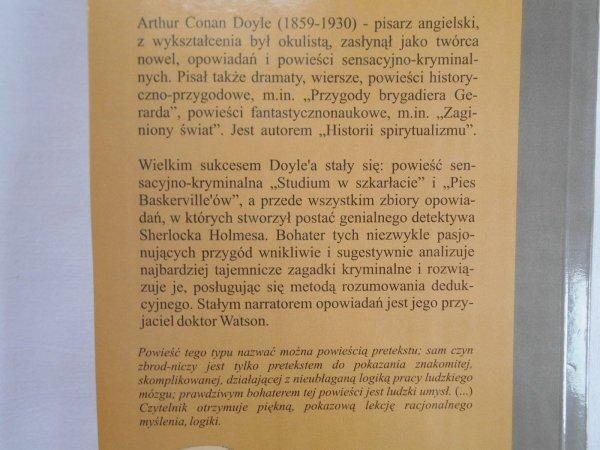 Arthur Conan Doyle • Tajemnica willi