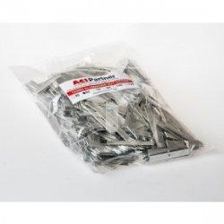 Taśma aluminiowa 10x1mm w odcinkach 50mm TALU10X1ODC50 /1kg ok. 37m/