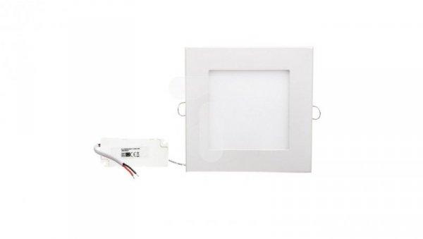 Oprawa downlight LED 12W 230V IP20 biały kwadrat płaski 940lm 3000K LAMPRIX LP-11-005
