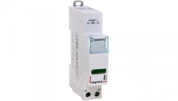 Lampka modułowa LED zielona 110/400V L403 412926