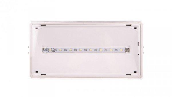 Oprawa awaryjna EXIT IP65 1W 3h dwuzadaniowa biała ETE/1W/C/3/SA/X/WH