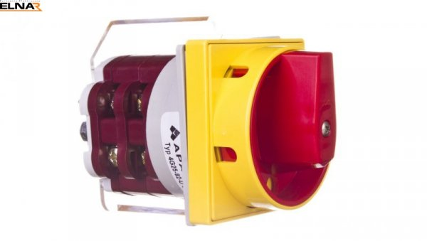 Łącznik krzywkowy awaryjny 0-1 4P 25A do wbudowania 4G25-92-U S25 63-246422-011