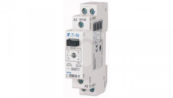 Przekaźnik instalacyjny 16A 1Z 1R 230V AC z diodą LED Z-R230/16-11 ICS-R16A230B110