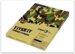 ETYKIETA A4 52,5x25,4 QCT