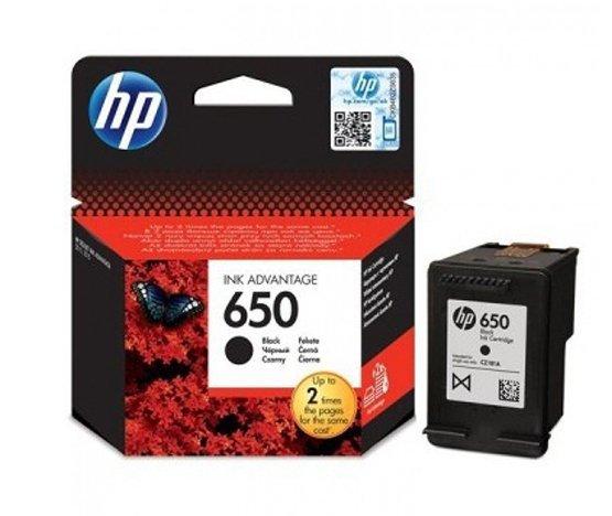 TUSZ ORYGINALNY do HP DeskJet Ink Advantage 2515 - HP650 CZ101AE Czarny