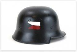 HEŁM M34 FLAGA POWSTANIE WARSZAWSKIE