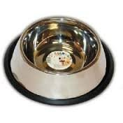 Miska Lolo Pets metalowa na gumie