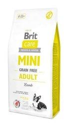 Brit care Mini Grain-Free Adult Lamb 7kg