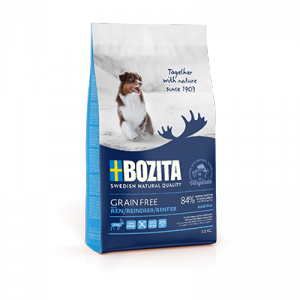 Bozita Adult Grain Free Renifer 12,5kg
