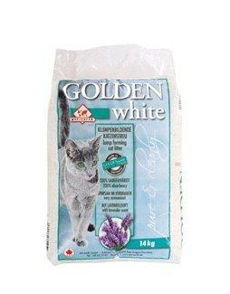 Golden Grey White żwirek bentonitowy dla kotów lawendowy 14kg