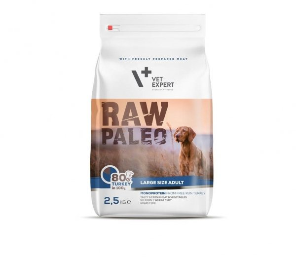 VETEXPERT RAW PALEO LARGE SIZE ADULT 2,5kg