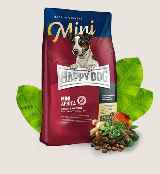 Happy Dog Dog  Mini Africa 4kg