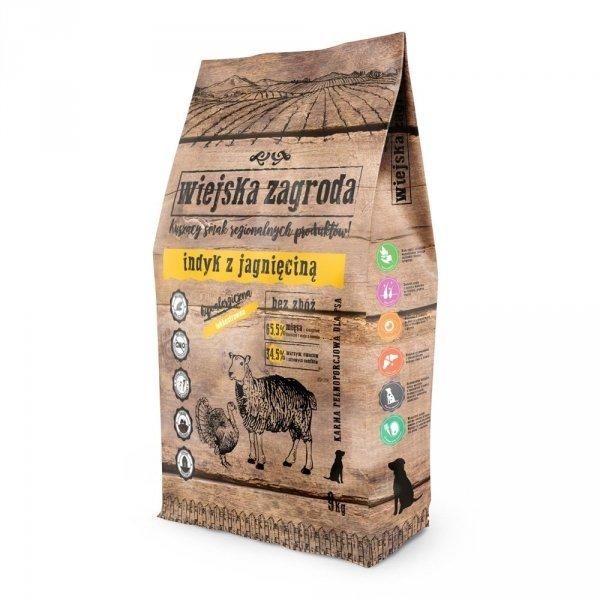 Wiejska Zagroda indyk z jagnięciną 2kg