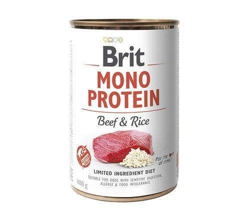Brit Mono Protein wołowina 400g